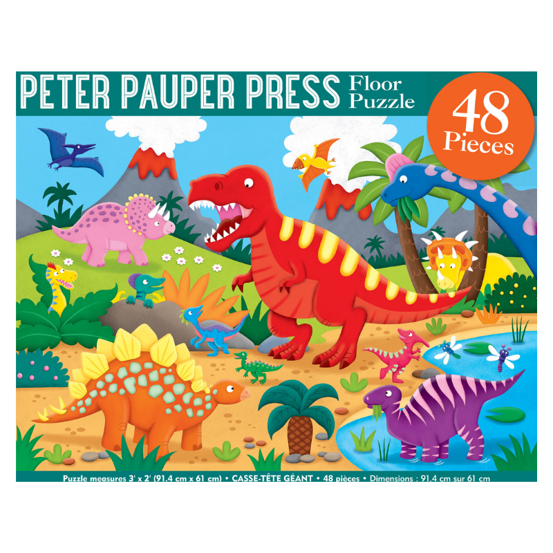 Dinosaur 48 Piece Kids' Floor Puzzle