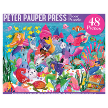 Load image into Gallery viewer, Mermaid Adventure 48 Piece Kids' Floor Puzzle