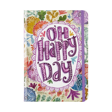 "Load image into Gallery viewer, Oh Happy Day Journal - 5"" x 7"""