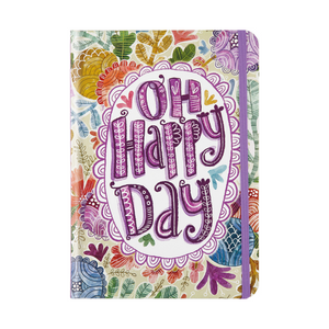 "Oh Happy Day Journal - 5"" x 7"""