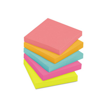 "Load image into Gallery viewer, 3M Neon 3"" X 3"" Post-it Notes (500 Sheets)"