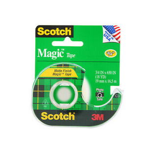 "3M Scotch 3/4"" X 650"" Magic Tape"