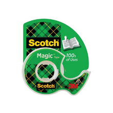 "Load image into Gallery viewer, 3M Scotch 3/4"" X 650"" Magic Tape"
