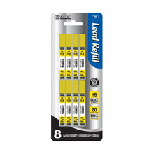 Load image into Gallery viewer, BAZIC 20 Ct. 0.9mm Mechanical Pencil Lead (8/Pack)