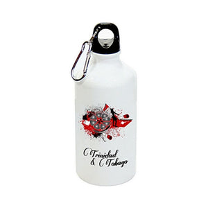 Aluminium Sublimation Water Bottle - Trinidad & Tobago Steelpan