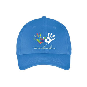 Autism Awareness Six Panel Twill Cap - Include