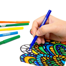 Load image into Gallery viewer, BAZIC 18 Classic Colours Fine Line Washable Markers