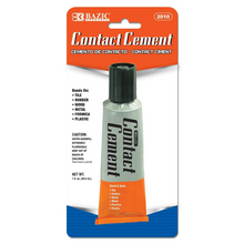 Load image into Gallery viewer, BAZIC 1 Oz. (30mL) Contact Cement Adhesive