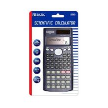 Load image into Gallery viewer, BAZIC 240 Function Scientific Calculator w/ Slide-On Case