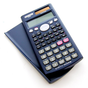 BAZIC 240 Function Scientific Calculator w/ Slide-On Case