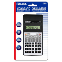 Load image into Gallery viewer, BAZIC 56 Function Scientific Calculator w/ Flip Cover