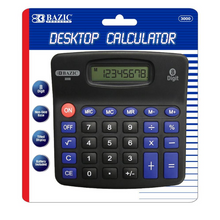 Load image into Gallery viewer, BAZIC 8-Digit Desktop Calculator