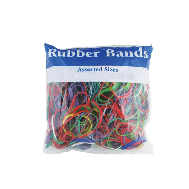 BAZIC Assorted Dimensions 227g/ 0.5 lbs. Rubber Bands
