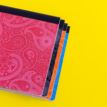 Load image into Gallery viewer, BAZIC College Rules 100 Sheets Paisley Composition Book