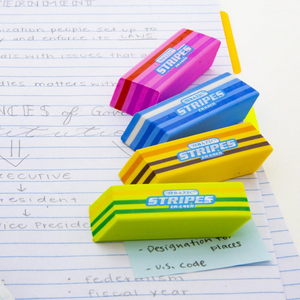 BAZIC Fashion Eraser (4/Pack)