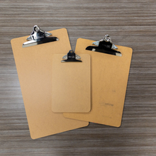 Load image into Gallery viewer, BAZIC Legal Size Hardboard Clipboard w/ Sturdy Spring Clip