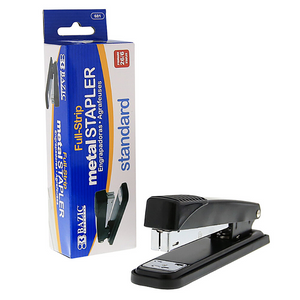 BAZIC Metal Full Strip Stapler