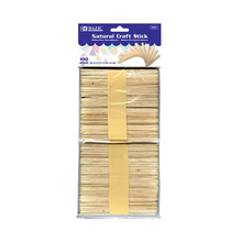Load image into Gallery viewer, BAZIC Natural Craft Stick (100/Pack)