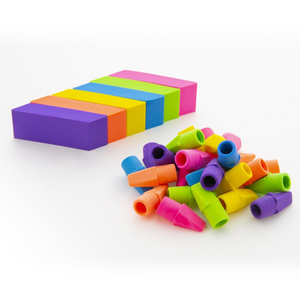 BAZIC Neon Eraser Sets (12/Pack)