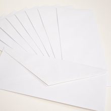 Load image into Gallery viewer, BAZIC #10 White Envelope w/ Gummed Closure (50/Pack)