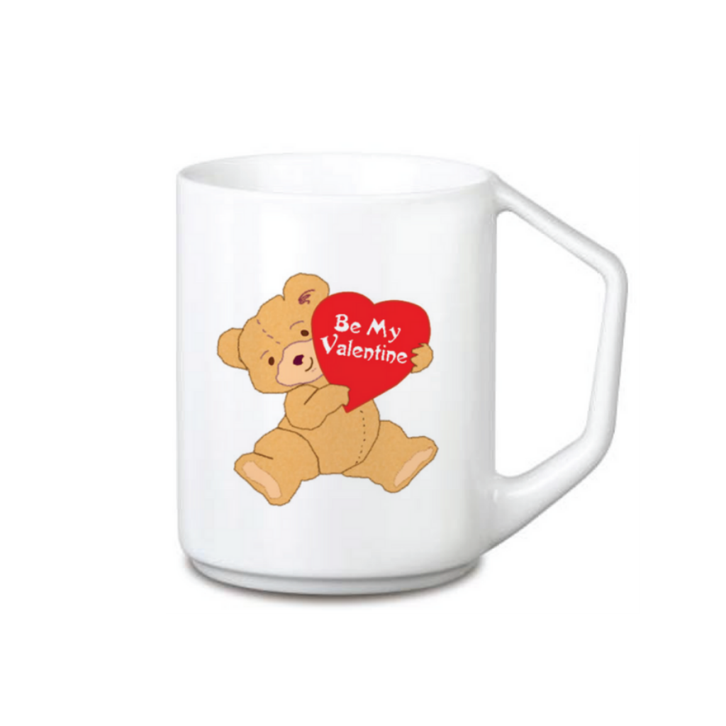 Be My Valentine Teddy Coffee Mug