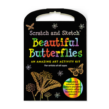 Load image into Gallery viewer, Beautiful Butterflies Scratch and Sketch Activity Kit