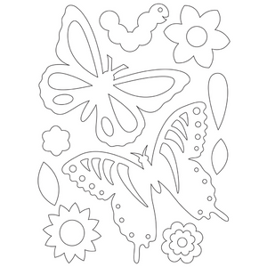 Beautiful Butterflies Scratch and Sketch Activity Kit