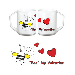 Bee My Valentine Coffee Mug
