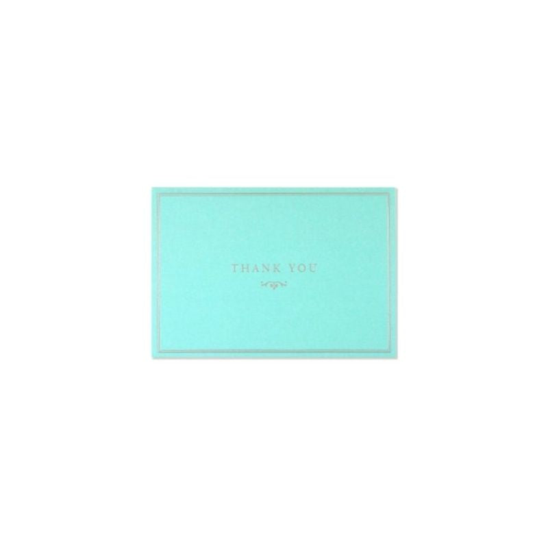 Blue Elegance Thank You Notes