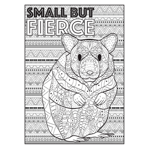 Cra-Z-Art Furever Friends Adult Colouring Book