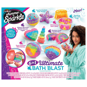 Cra-Z-Art Shimmer 'N Sparkle 6 in 1 Spa Creations