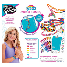 Load image into Gallery viewer, Cra-Z-Art Shimmer 'N Sparkle Over The Rainbow Friendship Bracelet Kit