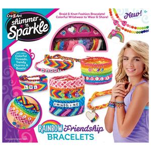 Cra-Z-Art Shimmer 'N Sparkle Over The Rainbow Friendship Bracelet Kit