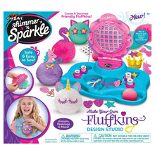 Load image into Gallery viewer, Cra-Z-Art Shimmer 'N Sparkle Make Your Own Fluffkins Design Studio