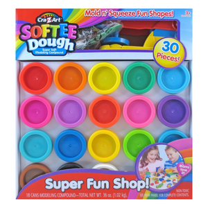 Cra-Z-Art Softee Dough™ Super Rainbow 30pc Assortment