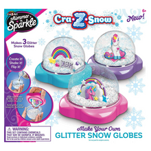 Load image into Gallery viewer, Cra-Z-Art Shimmer 'N Sparkle Glitter Snow Globe