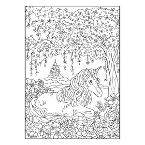 Cra-Z-Art Whimsical Friends Adult Colouring Book