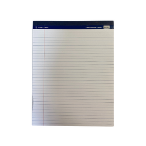Challenge White Margin Perforated Legal Pad