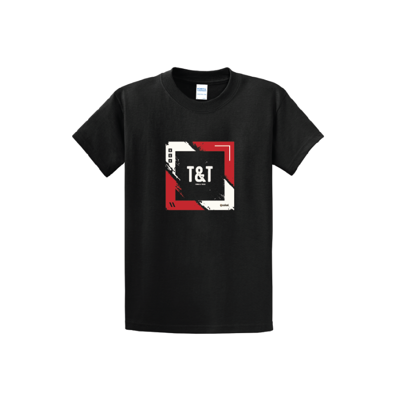 Coskel – Black Essential T-Shirt – T&T Squared