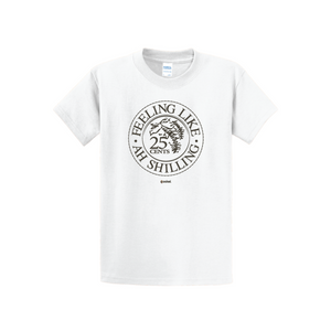 Coskel – White Essential T-Shirt – Feeling Like Ah Shilling