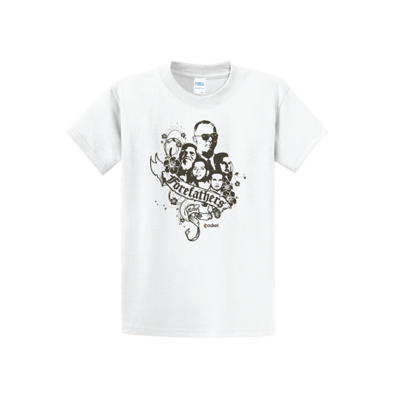 Coskel – White Essential T-Shirt – Forefathers