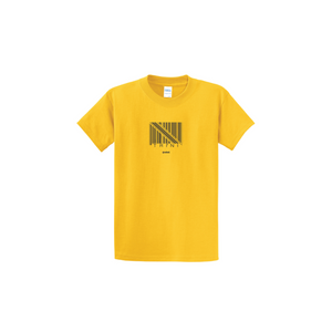 Coskel – Yellow Essential T-Shirt – Trini Barcode