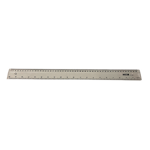 "Cox 50cm / 20"" Transparent Plastic Ruler"