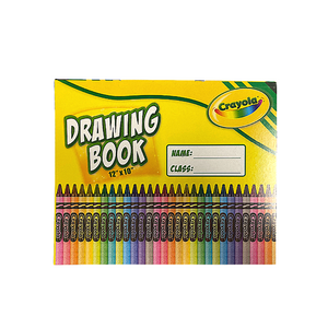 "Crayola 10"" x 12"" Drawing Book"