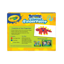 Load image into Gallery viewer, Crayola Bold Washable Fingerpaint (3/Pack)