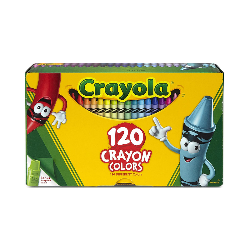 Crayola Classic Assorted Crayons (120/Pack)
