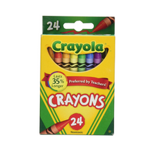 Load image into Gallery viewer, Crayola Classic Assorted Crayons (24/Pack)