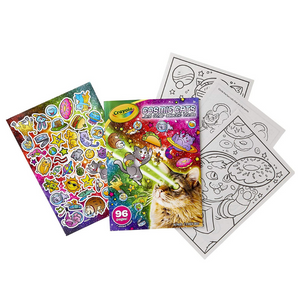 Crayola Cosmic Cats Colouring Book