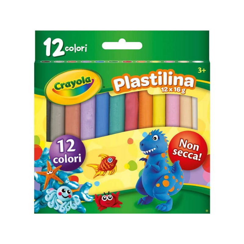 Crayola Modelling Clay (12/Pack)