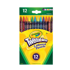 Crayola Twistables Coloured Pencils (12/Pack)
